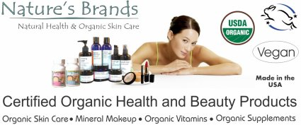 Certified Organic Health and Beauty Products